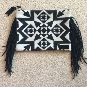 Pendleton wool clutch purse